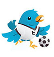 Twitter with Soccer Ball